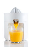 Orange squeezer Stock Images