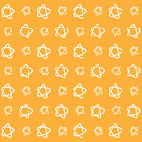 Orange star wallpaper great for any use. Vector EPS10. Royalty Free Stock Photo