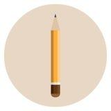 Orange starker Bleistift Lizenzfreie Stockfotografie