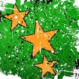Orange stars Royalty Free Stock Image