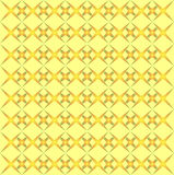 Orange Stars on Yellow Background Royalty Free Stock Photo