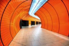 Orange Station Architecture Royalty Free Stock Photo