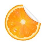 Orange Sticker Stock Photos