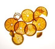 Orange Still life Stock Images