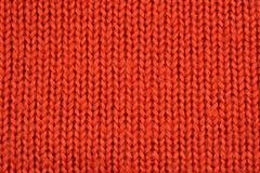 Orange stockinet background Stock Photography