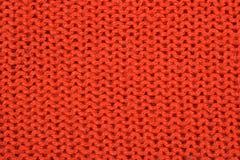 Orange stockinet background Royalty Free Stock Photos