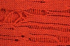 Orange stockinet background Stock Photos