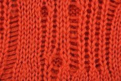 Orange stockinet background Royalty Free Stock Photography