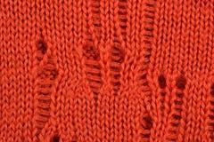 Orange stockinet background Royalty Free Stock Image