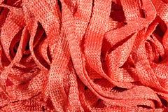 Orange stockinet ribbons background Royalty Free Stock Photography
