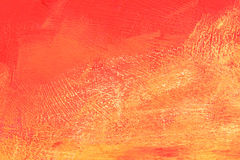 Orange stone Stock Image
