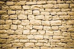 Orange stone wall Stock Image
