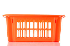 Orange storage box Royalty Free Stock Photography