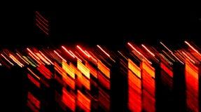 orange ström Royaltyfri Foto