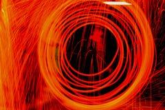 orange ström Royaltyfria Bilder