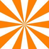 Orange Strahlen Stockfotos