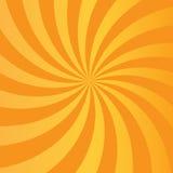 Orange strahlt abstrakten Hintergrund aus Lizenzfreie Stockfotografie