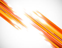 Orange straight lines Stock Photos