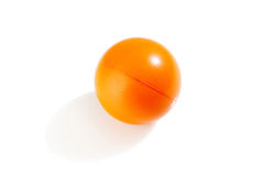 Orange stress ball Stock Image