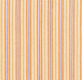 Orange striped fabric Royalty Free Stock Images