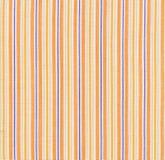 Orange striped fabric Royalty Free Stock Images