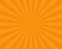 Orange stripes background flyer Stock Photos