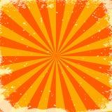 Orange stripes Stock Image