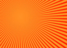 Orange stripped background Royalty Free Stock Images