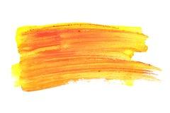 Orange strokes Royalty Free Stock Images