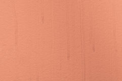 Orange structural painted wallpaper Royalty Free Stock Image