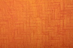 Orange strukturiertes handgemachtes Kunstdruckpapier Stockfoto