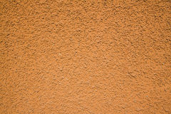 Orange stucco Royalty Free Stock Photography