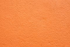 Free Orange Stucco Wall Stock Photography - 123223092