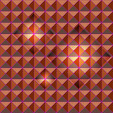 Orange studs seamless texture with light glow Stock Image