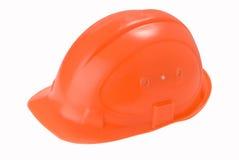 Orange Sturzhelm Lizenzfreies Stockbild