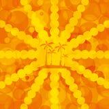Orange summer background Stock Photo