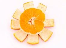 Orange sun Royalty Free Stock Photography
