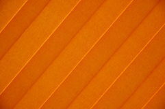 Orange sunblind Stock Photography