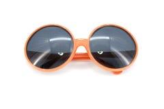 Orange sunglass isolated on white background Royalty Free Stock Photo