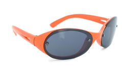 Orange sunglasses. Stock Photo