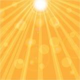 Orange sunny background Royalty Free Stock Photography