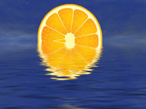 Orange sunset Royalty Free Stock Images