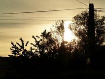 Orange sunset Royalty Free Stock Image
