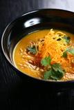 Orange Suppe lizenzfreie stockfotografie