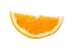 Orange sur le fond blanc Images stock
