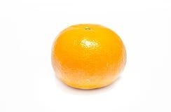 Orange sur un fond blanc. Images libres de droits