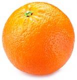 Orange sur un fond blanc Photos stock