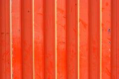 Orange surface with ridges Royalty Free Stock Photography
