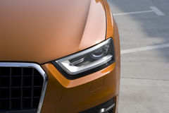 The orange SUV Stock Photos