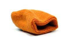 Orange sweat band #2 Royalty Free Stock Photo